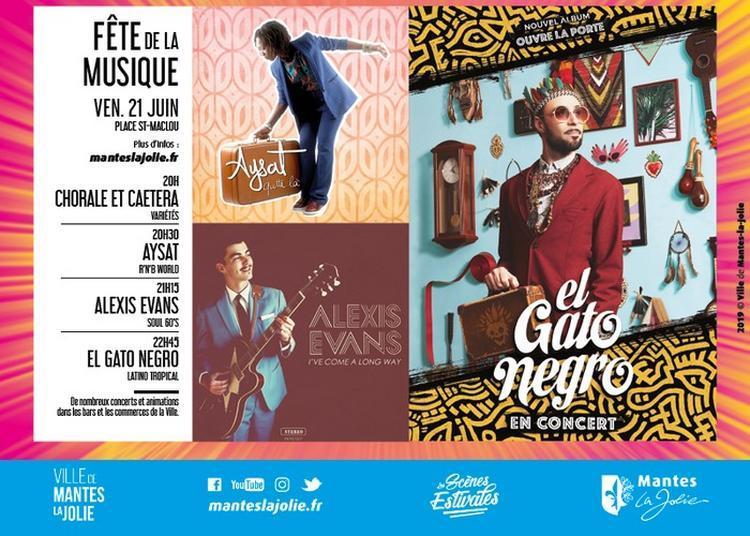 Chorale Et Caetera / Aysat / Alexis Evans / El Gato Negro à Mantes la Jolie