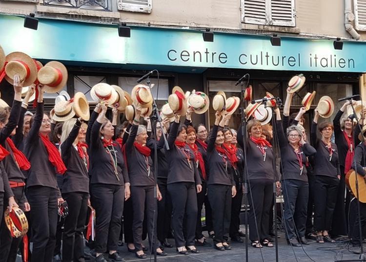 Chorale Féminine Sono Solo Canzonette: Un Air D'italie à Paris 5ème
