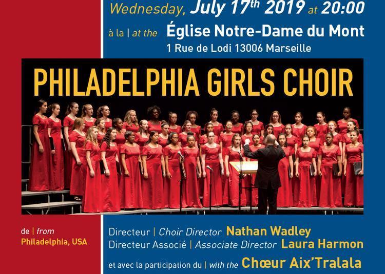 Chorale The Philadelphia Girls Choir à Marseille