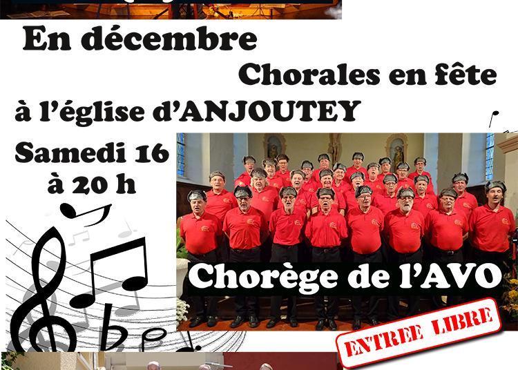 Chorales en fête à Anjoutey