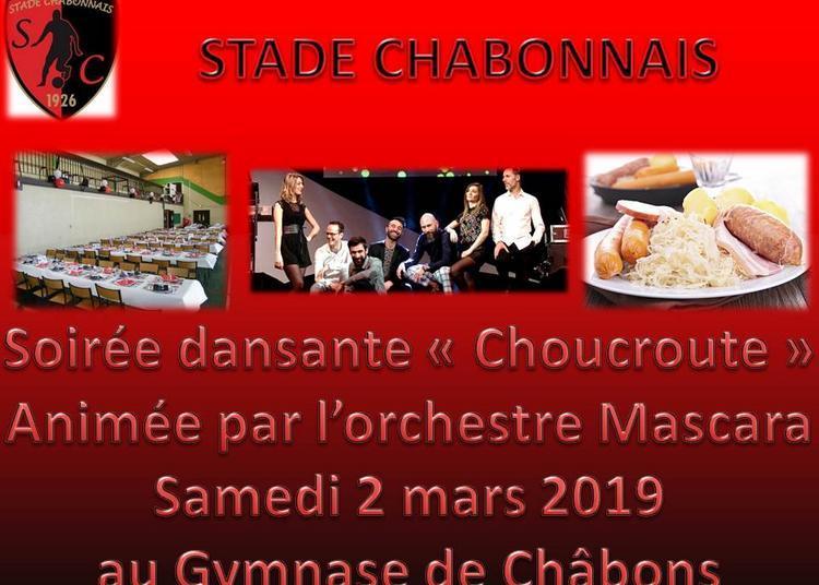 Choucroute dansante du Stade Châbonnais à Chabons