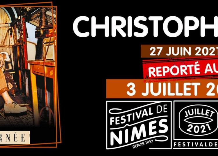 Christophe Maé - Report à Nimes