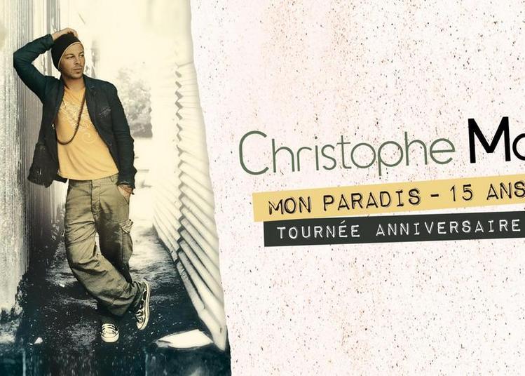 Christophe Maé à Tours
