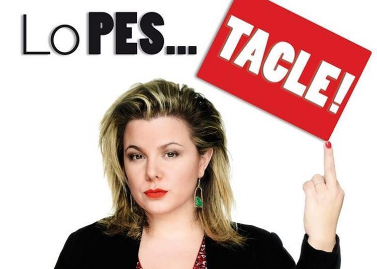 Cindy Lopes Dans Lopes...Tacle ! à Paris 4ème