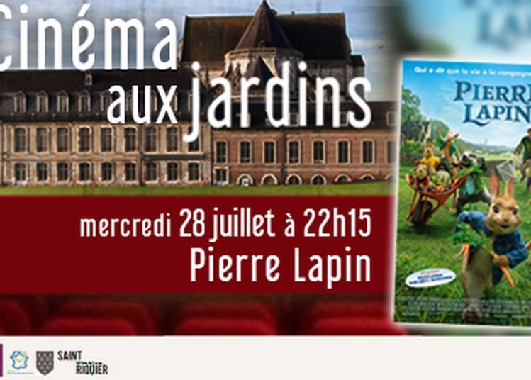 Cinéma aux jardins - Pierre Lapin à Saint Riquier