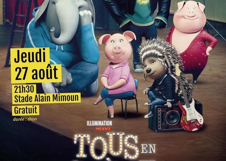 Cinema En Plein Air : Tous En Scene ! à Epinay Sous Senart