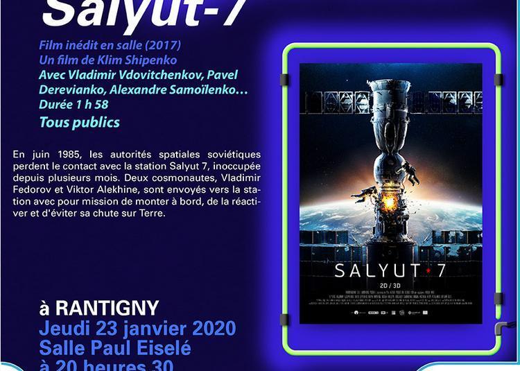 Cinéma : Salyut 7 à Rantigny