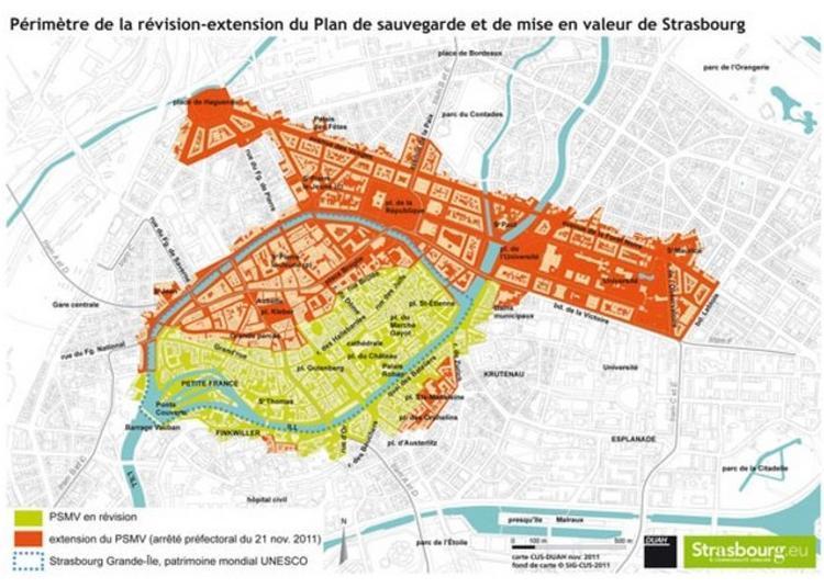 Circuit Autour De La Sauvegarde Et De La Mise En Valeur De Strasbourg