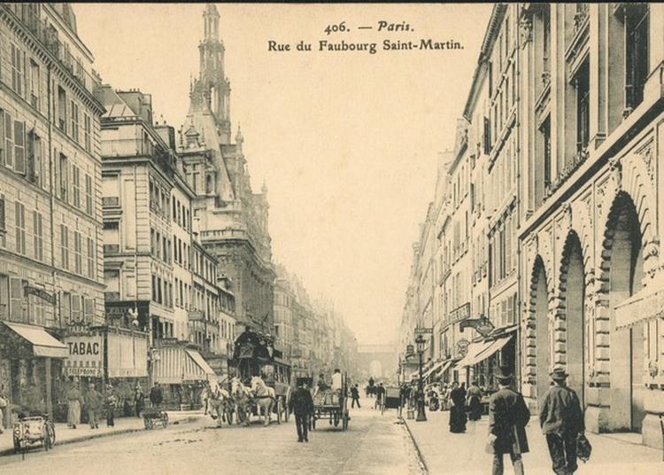 Circuit Commenté À La Découverte Du Faubourg-st-martin à Paris 10ème