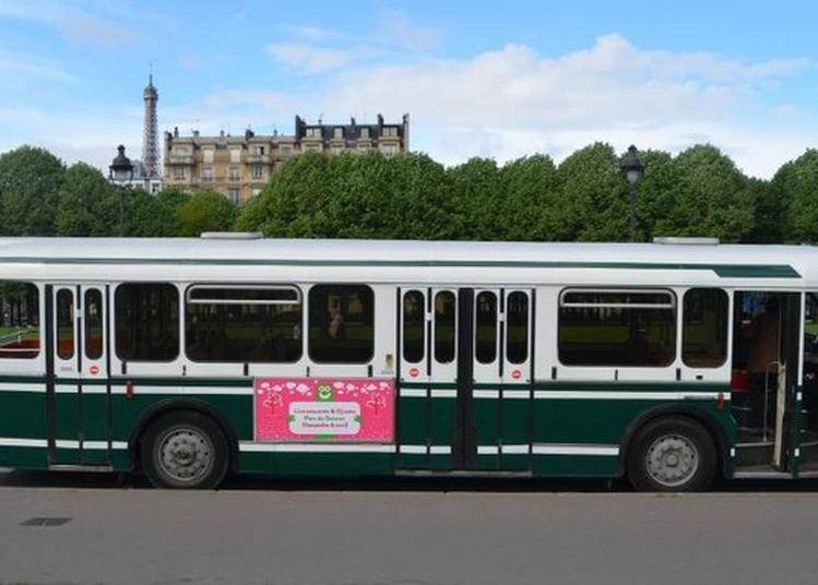 Circuit Commenté En Bus Touristique Vintage À Plateforme Vers Différents Sites De La Ville à Saint Leu la Foret
