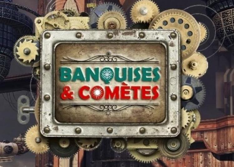 Rencontre avec les éditions Banquises & Comètes à la librairie Papyrus à La Ferte Bernard