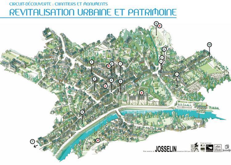 Circuit Découverte De Chantiers De Revitalisation Urbaine Et Du Patrimoine à Josselin