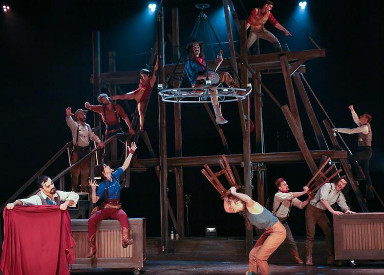 Cirque Eloize 'Saloon' à Nice