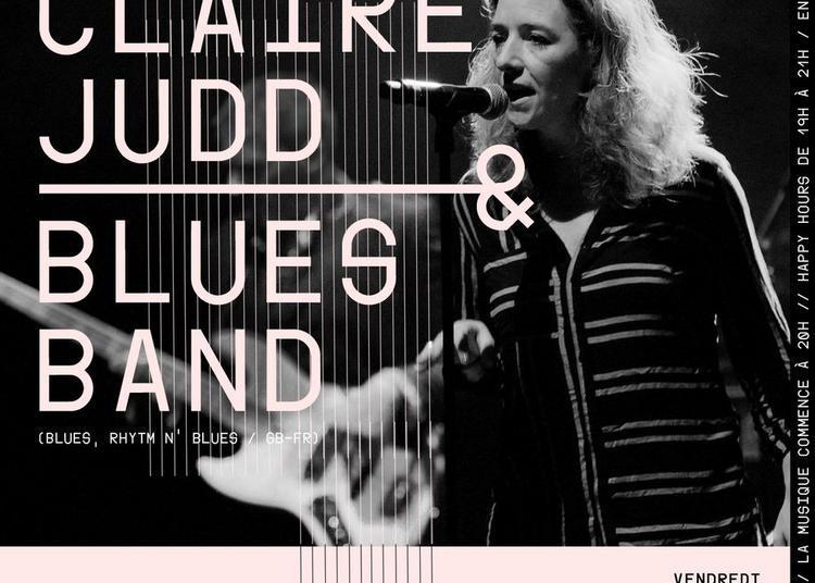 Claire Judd & son Blues Band à Paris 6ème