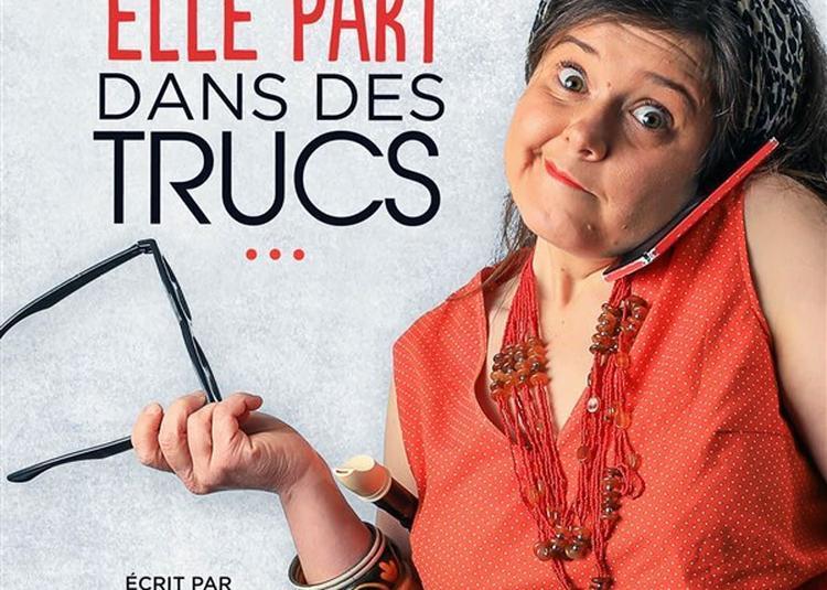 Claire-Marie Rigaud Dans Elle Part Dans Des Trucs à Paris 19ème