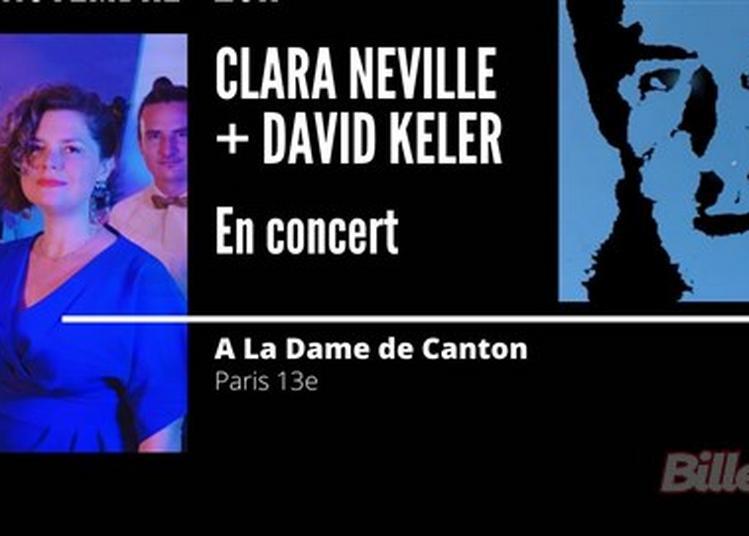 Clara Néville + David Keler à Paris 13ème