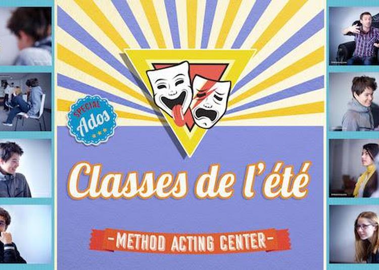 Classes de l'été Spécial Ados - Method Acting Center à Paris 13ème