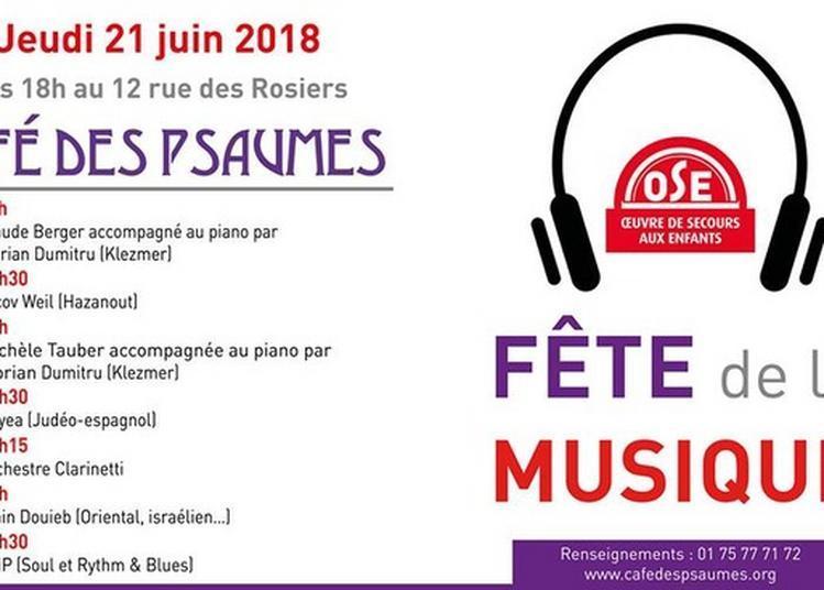 Claude Berger Et Florian Dumitru / Yacov Weil / Michèle Tauber Et Florian Dumitru / Hayea / Orchestre Clarinetti / Alain Douieb / Amp à Paris 4ème