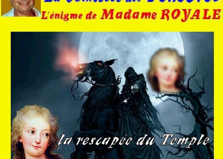 Claude Camous raconte La Comtesse des Ténèbres : L'Enigme de Madame Royale, à Marseille