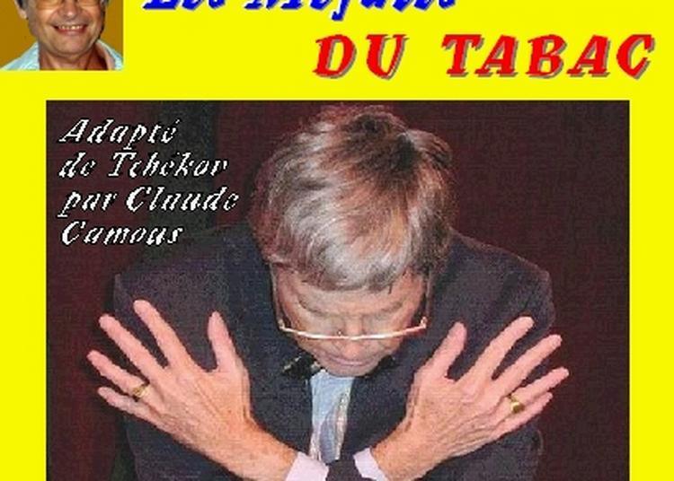 Claude Camous raconte Les Méfaits du Tabac, adapté de Tchekov à Marseille