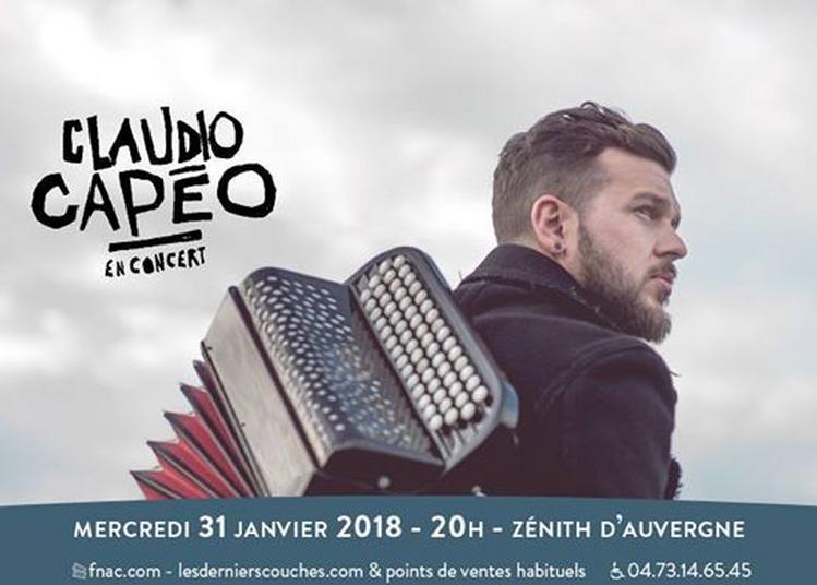 Claudio Capéo à Clermont Ferrand