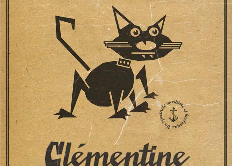 Clémentine et le chat à Nantes