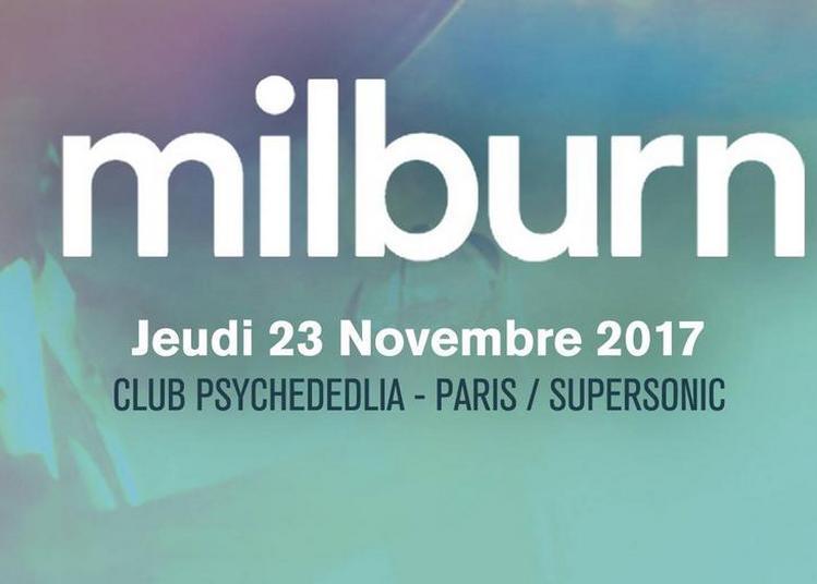 Club Psychedelia / Milburn à Paris 12ème