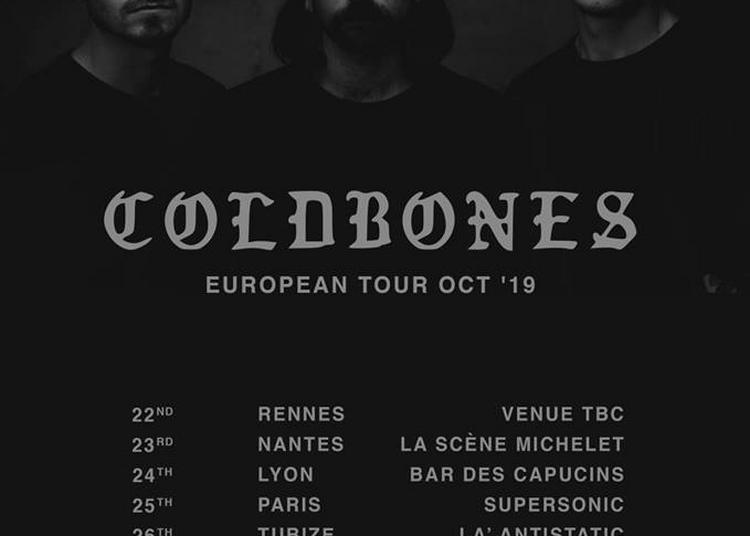 Coldbones et Cerf Boiteux à Nantes