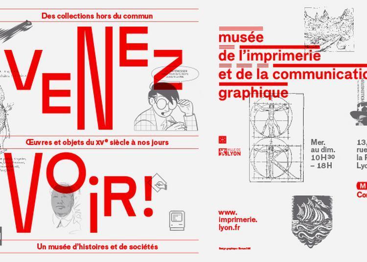 Collection Permanente : Venez Voir Le Musée De L'imprimerie ! à Lyon