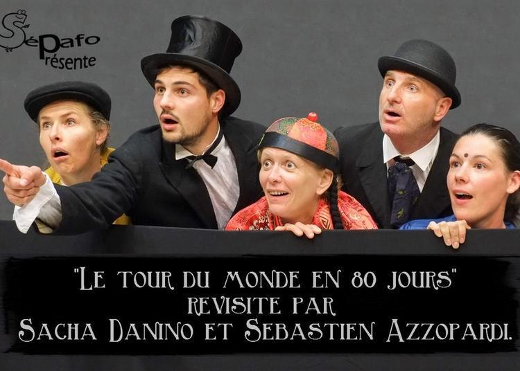 Comédie théâtre Le tour du monde en 80 jours à Les Ponts de Ce