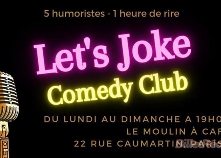 Comedy Club Let'S Joke à Paris 9ème