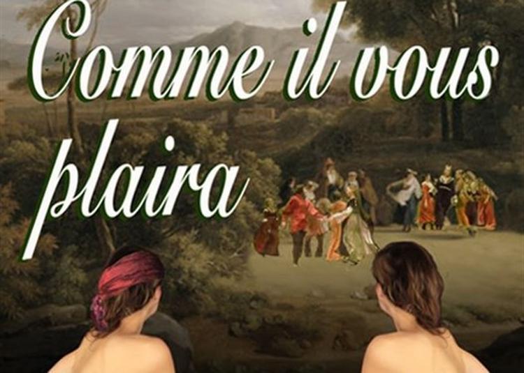 Comme Il Vous Plaira à Paris 4ème