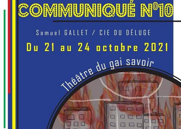 Communiqué N°10 à Lyon