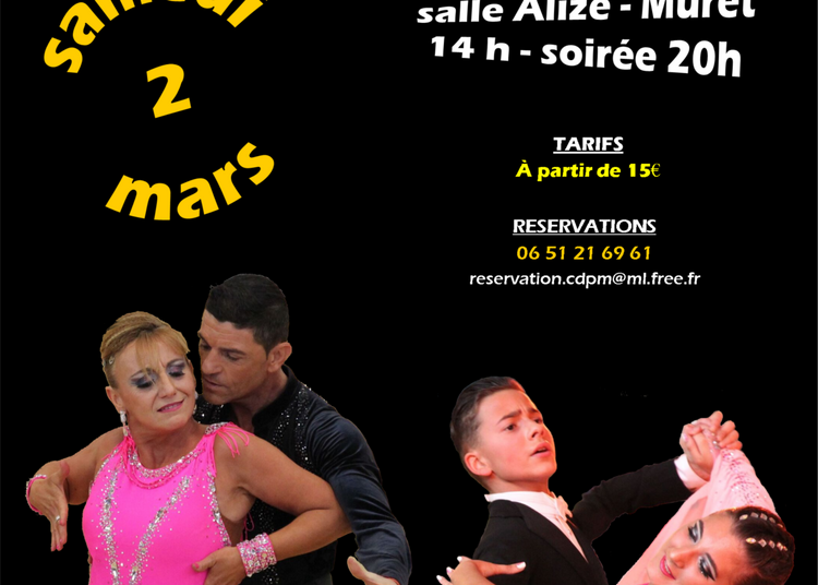 Compétition de danse latines et standards à Muret