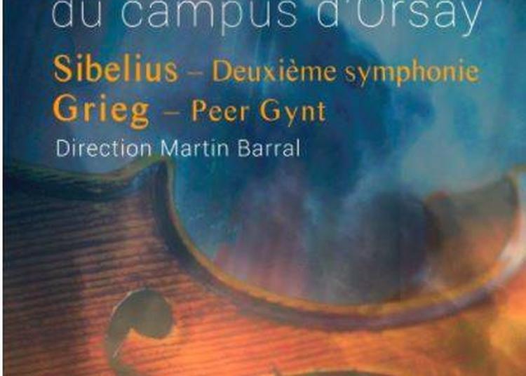 Compositeurs Scandinaves Par L'orchestre Du Campus D'orsay à Paris 15ème