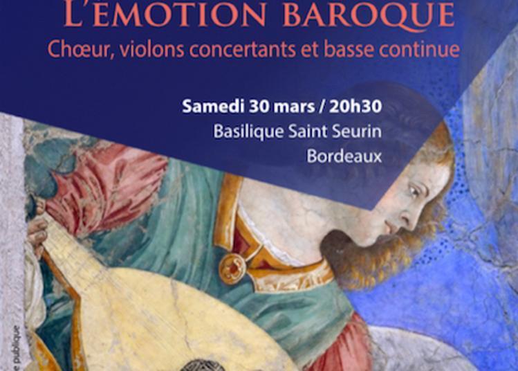 Groupe Vocal Arpege, direction Jacques Charpentier à Bordeaux