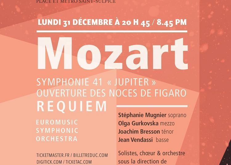 Concert 31 Décembre 2018 - Mozart à Paris 6ème