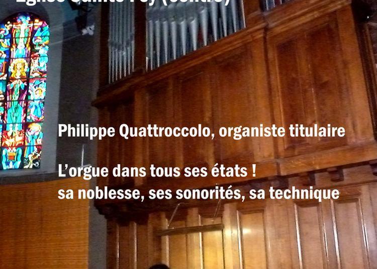 Concert à Sainte Foy les Lyon