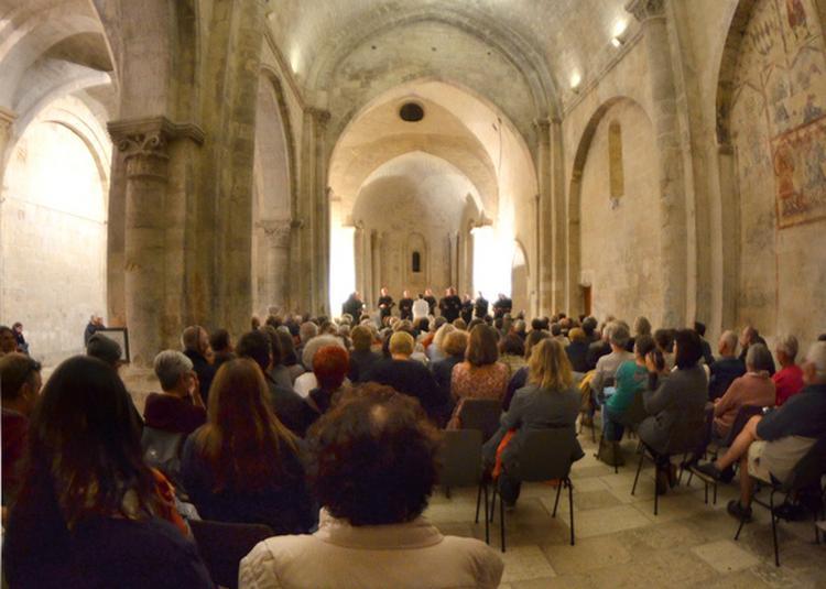 Chants grégoriens par le Quatuor Spiritus Novus à Mane