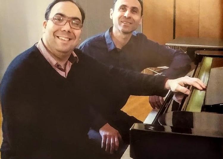 Concert à 2 pianos Jean François Bouvery et Jean Dubé à Paray le Monial
