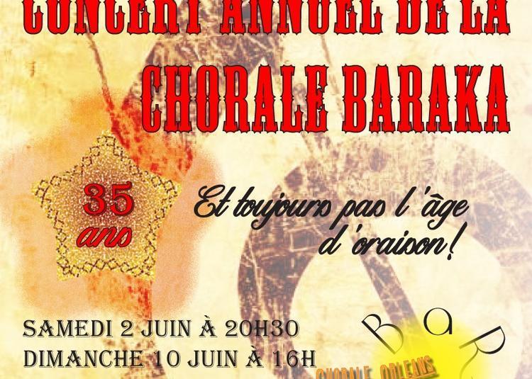 Concert annuel Chorale Orléans La Baraka