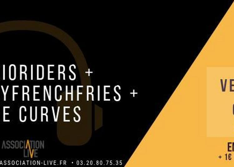 Audioriders, Thurday French Fries(TFF) et The Curves à Roubaix