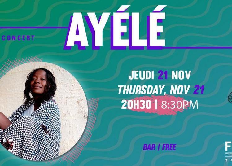 Concert Ayélé à Paris 14ème