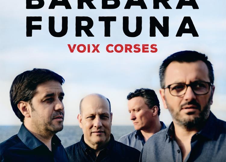 Concert Barbara Furtuna - Voix corses à Nyons