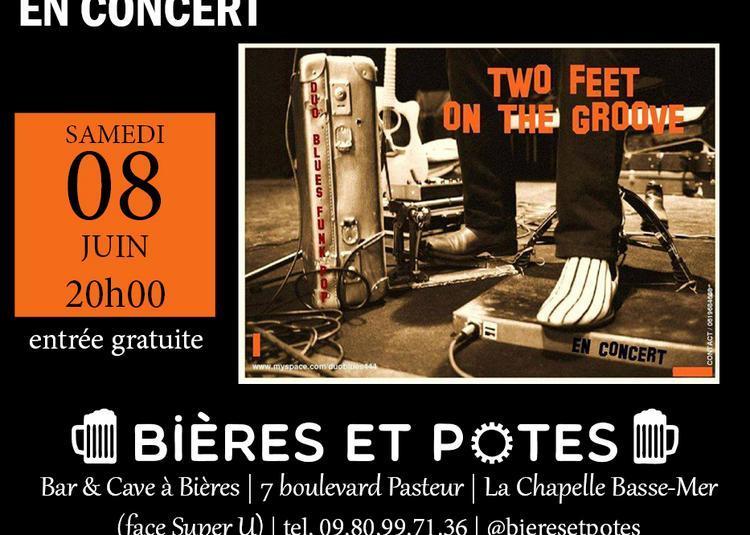 Concert Blues Rock des Two Feet On the Groove à La Chapelle Basse Mer