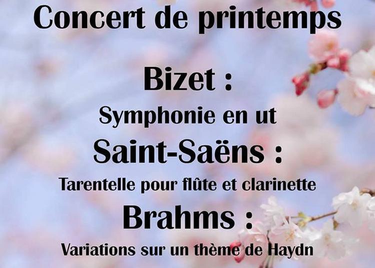 Concert Brahms, Saint Saens, Bizet à Orsay