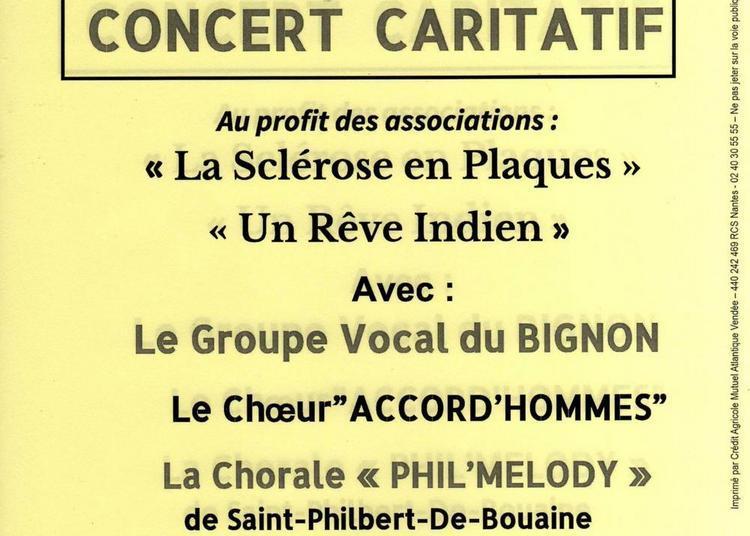Concert caritatif à Rocheserviere