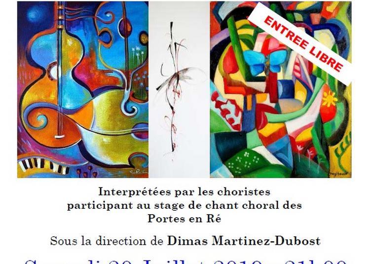 Concert choeur en espagnol à Saint Clement des Baleines