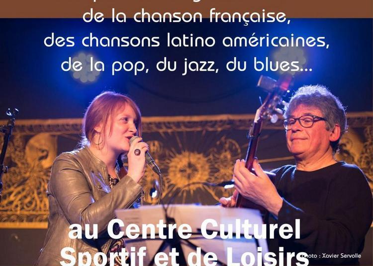 Concert chansons françaises - Duo Maud Choteau et Selim Khelifa à Serre les Sapins