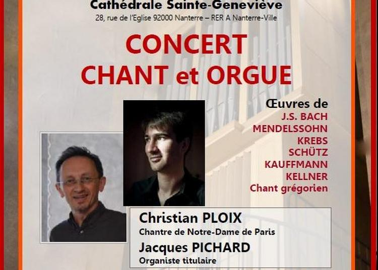 Concert Chant & Orgue à Nanterre